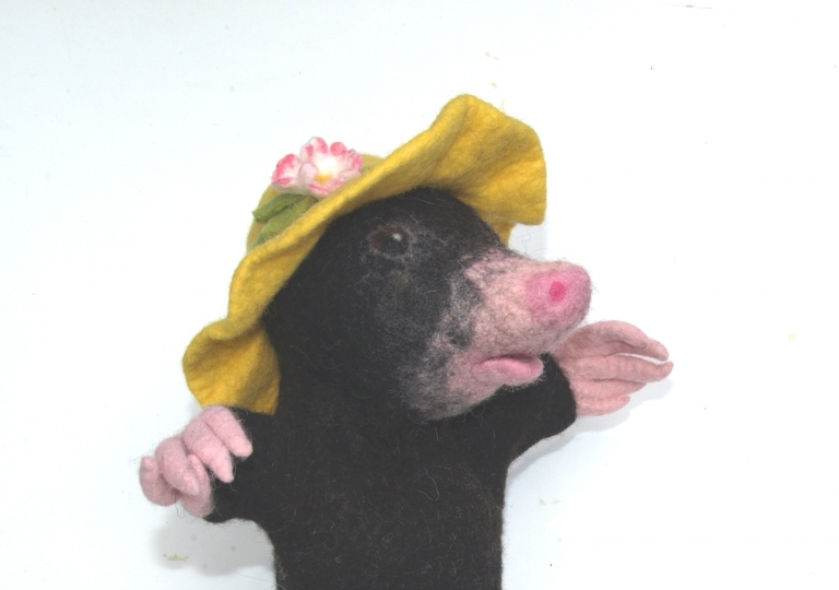 Maulwurf-Hut