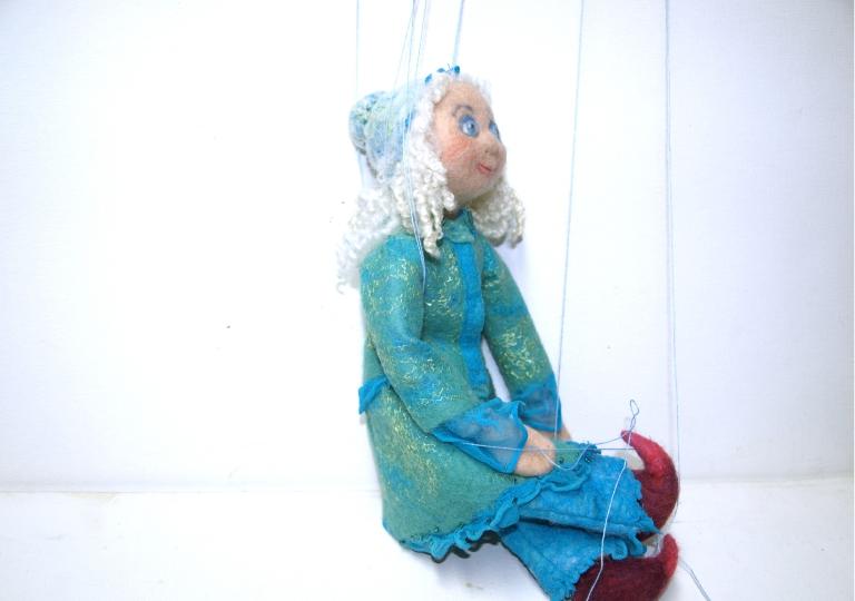marionette-puppe